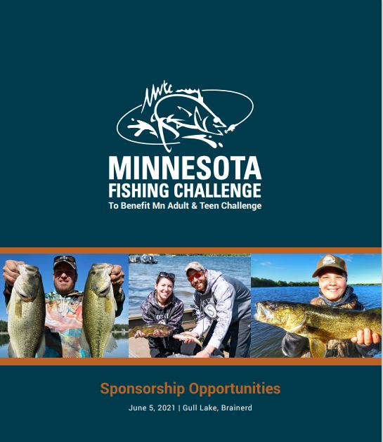 2021 Fishing Challenge Sponsorship Brochure Cover
